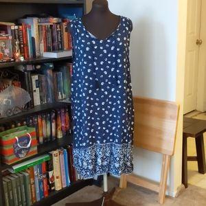 Light weight sleeveless summer dress